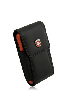 Swiss Leatherware Alpha Case for Most PDAs - Black