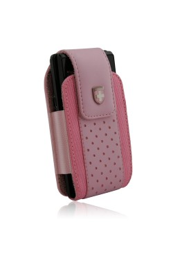 Swiss Leatherware Alps Case for Most PDAs - Pink