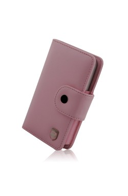 Swiss Leatherware Bank for Most PDAs - Pink