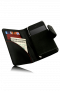 Swiss Leatherware Bank for Most PDAs - Black