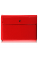 Swiss Leatherware Prime Case for Motorola XOOM - Red