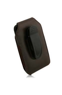 Swiss Leatherware Alps Case for Most PDAs - Brown