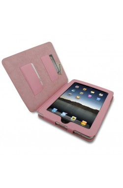 Swiss Leatherware Bank for Apple iPad - Pink
