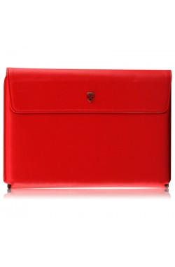 Swiss Leatherware Prime Case for Motorola XOOM - Red